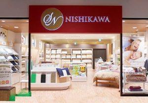 布団の西川の店舗画像