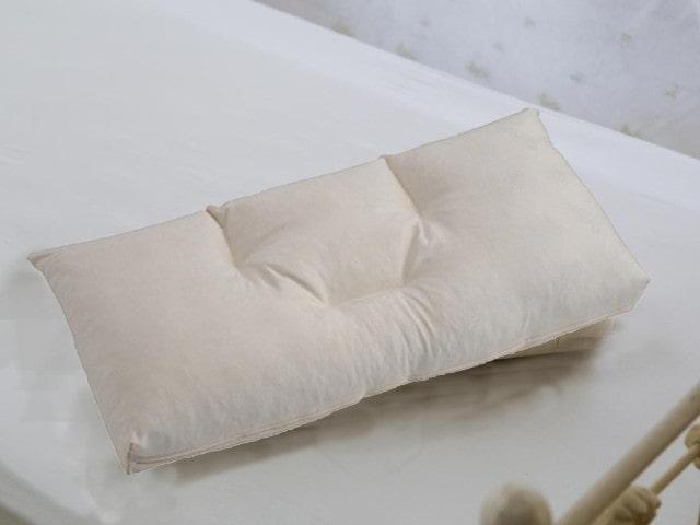 今使っている枕を図る